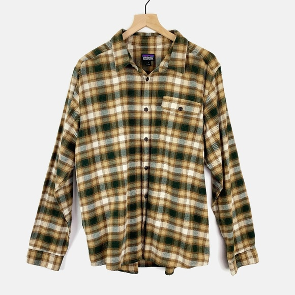 Patagonia Other - Patagonia Lightweight Fjord Flannel Shirt Large